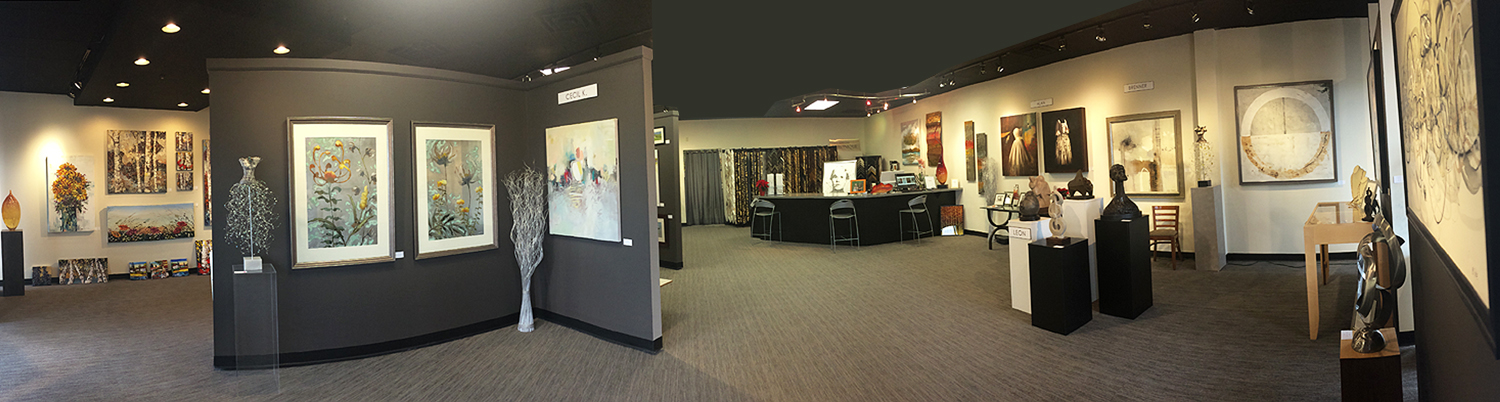 Pano Slider of GVBright Gallery Veronique