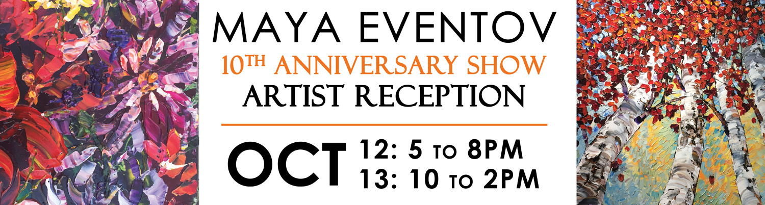 Maya Eventov 10th anniversary show